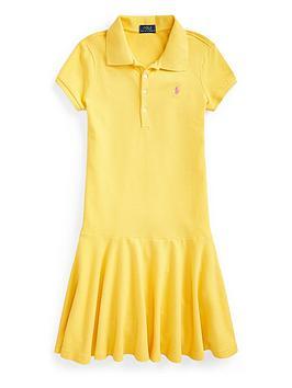 Ralph Lauren Ralph Lauren Girls Classic Polo Dress Picture