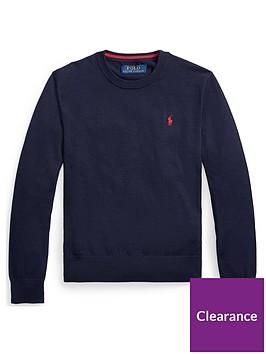 ralph-lauren-boys-classic-knitted-crew-jumper-navy