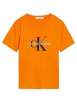 Calvin Klein Jeans Calvin Klein Jeans Unisex Monogram Short Sleeve T-Shirt  ... Picture