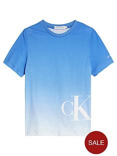 calvin-klein-jeans-boys-gradient-monogram-short-sleeve-t-shirt-blue