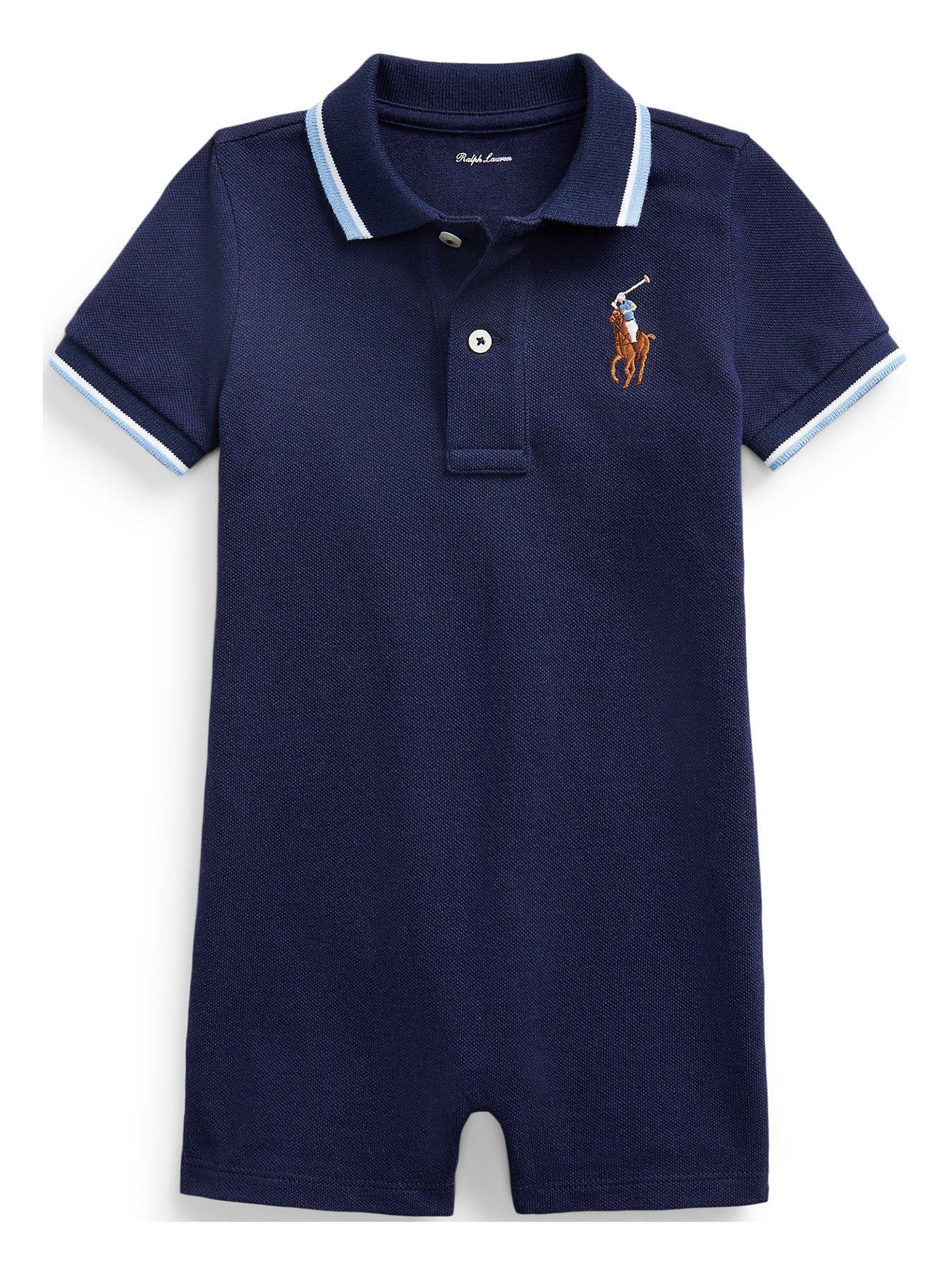 24 months 18 Ralph Lauren baby Boys/' Short Sleeve Cotton Polo Shirt sizes 12