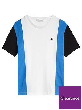calvin-klein-jeans-boys-colourblock-short-sleeve-t-shirt-white