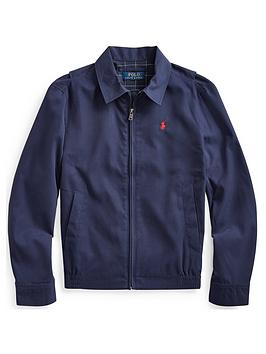 Ralph Lauren Ralph Lauren Boys Zip Through Coach Jacket - Navy Picture