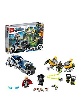 LEGO Super Heroes Lego Super Heroes 76142 Marvel Avengers Speeder Bike  ... Picture