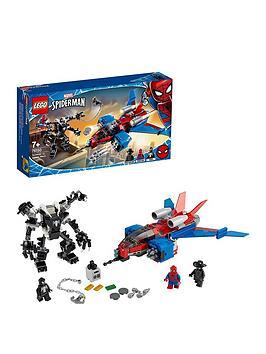 LEGO Super Heroes Lego Super Heroes 76150 Marvel Spider-Man Jet Vs. Venom  ... Picture