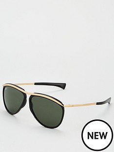 ray-ban-olympian-aviator-sunglasses-blackgold