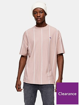 topman-striped-t-shirt-pink