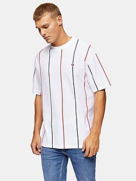 topman-striped-t-shirt-white