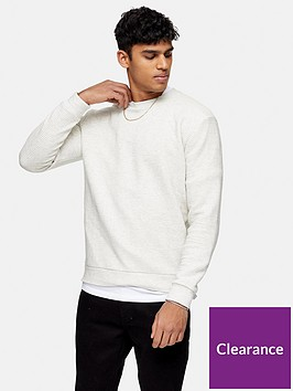 topman-marl-ottoman-sweatshirt-ecru