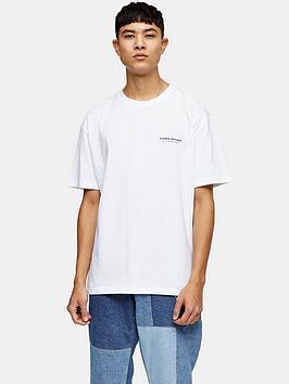 Topman Topman Sierra Nevada Mono Print T-Shirt - White Picture