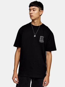 topman-everlasting-mono-print-t-shirt-black
