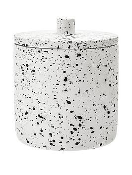 Premier Housewares Premier Housewares Gozo Concrete Cotton Jar Picture