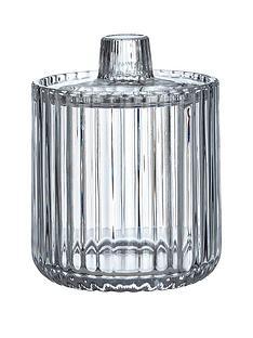 premier-housewares-ticino-birttany-clear-glass-storage-jar