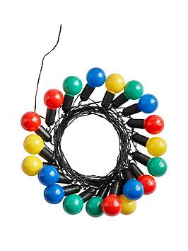 Very  20 Solar Multi Colour Festoon Lights - Multifunction