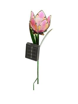 woodland-flower-stake-light-4-assorted-colours