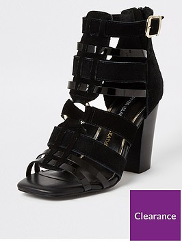 river-island-river-island-leather-cut-out-shoe-boot-black