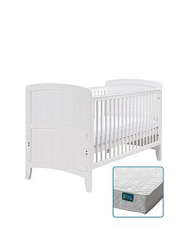 East Coast East Coast Venice Cot Bed & Spring Mattress Picture