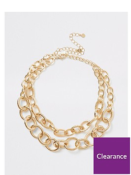 river-island-chunky-chain-2-pack-necklaces-gold