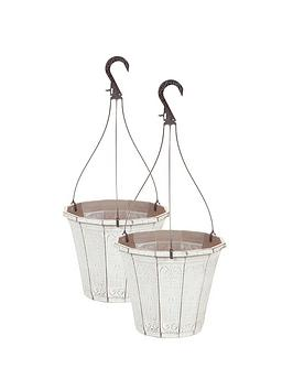 Very Pair Of Callista 10 Inch Hanging Baskets Picture