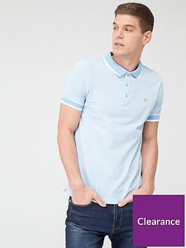 farah-basel-pique-polo-shirt-light-blue