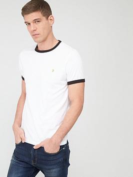 farah-groves-ringer-t-shirt-white