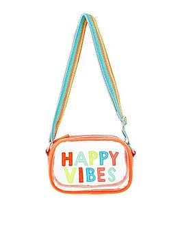 Accessorize Accessorize Girls Happy Vibes Jelly Across Body Bag - Multi Picture