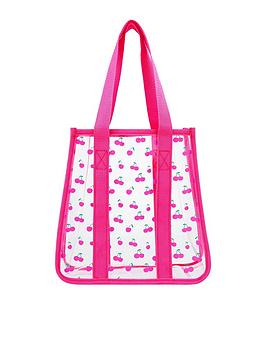 Accessorize   Girls Cherry Jelly Shopper Bag - Multi