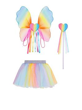 Accessorize   Girls Over The Rainbow Dress Up Set - Multi