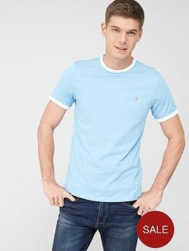 farah-groves-ringer-t-shirt-light-blue