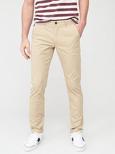 farah-elm-slim-fit-chinos-light-sand