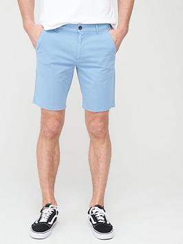 Farah Farah Hawk Chino Shorts - Light Blue Picture