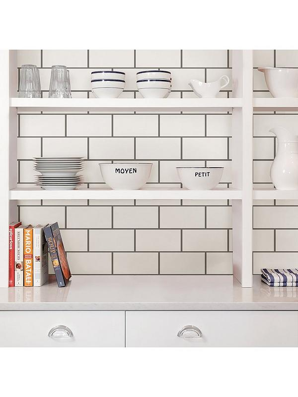 Inhome Pack Of 4 Subway Tile L