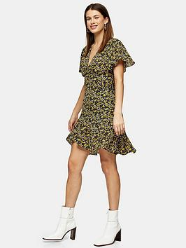 Topshop Topshop Idol Ditsy Mini Tea Dress - Multi Picture