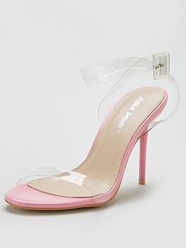 Public Desire Public Desire Layton Heeled Sandal - Pink Picture