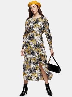 topshop-fresh-floral-long-sleeve-midi-dress-ivory