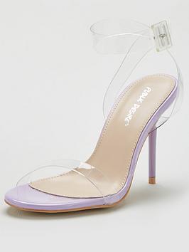 Public Desire Public Desire Layton Heeled Sandal - Lilac Picture
