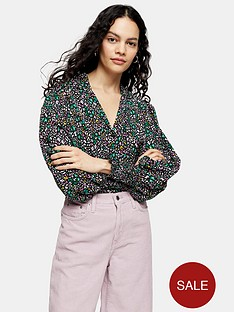 topshop-bright-animal-print-shirt-multi