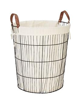 Very Lined Wire Basket Picture