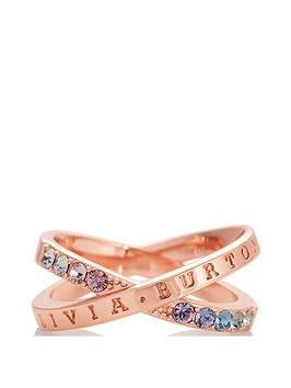 olivia-burton-rainbow-interlink-rose-gold-ring