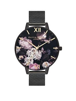 Olivia Burton Olivia Burton Ip Black Mesh Watch Picture