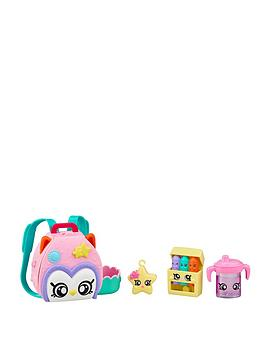 Kindi Kids Kindi Kids Owl Petkin Backpack And 3 Shopkins Picture