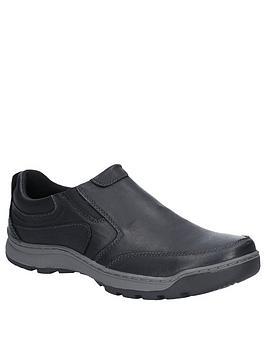 Hush Puppies Hush Puppies Jasper Slip On Shoes - Black Picture