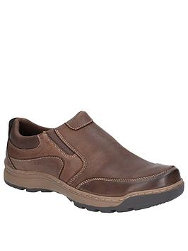 Hush Puppies Hush Puppies Jasper Slip On Shoes - Brown Picture
