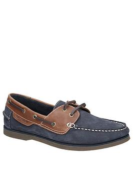 Hush Puppies Hush Puppies Henry Boat Shoes - Blue Picture