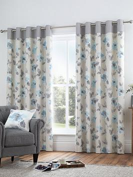Fusion Fusion Adriana Lined Eyelet Curtains Picture