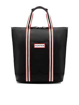 Hunter Hunter Original Lightweight Rubberised Two Way Tote Bag - Black Picture