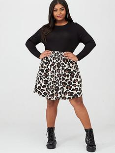 boohoo-plus-boohoo-plus-2-in-1-jersey-leopard-skater-dress-animal