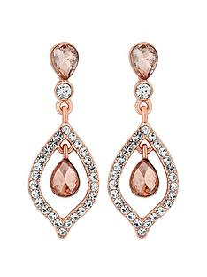 mood-double-teardrops-rose-gold-earrings