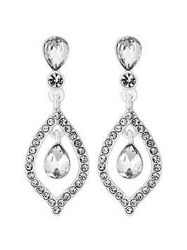 Mood Mood Marquise Silver Teardrops Earrings Picture