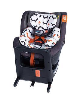 Cosatto Cosatto Rac Come & Go I-Size 360 Rotate Car Seat - Charcoal Mister  ... Picture